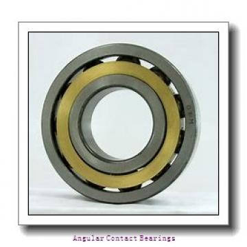 90 mm x 160 mm x 52.4 mm  Rollway 3218 Angular Contact Bearings