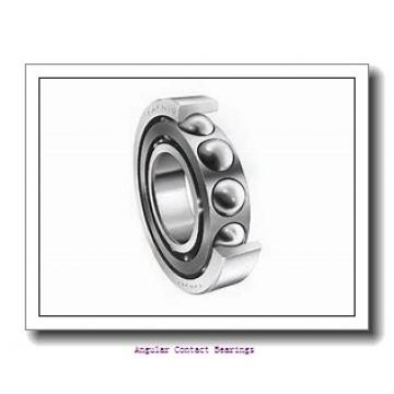 55 mm x 100 mm x 33.3 mm  Rollway 3211 C3 Angular Contact Bearings