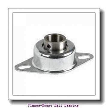 1.0000 in x 3.2500 in x 4.2500 in  Dodge F4BSCMAH100 Flange-Mount Ball Bearing