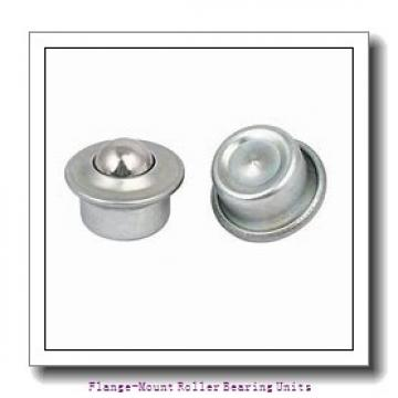 2 in x 4.0625 in x 5.3125 in  Rexnord MFS2200 Flange-Mount Roller Bearing Units