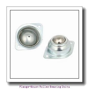 3-15/16 in x 7.6300 in x 9.4700 in  Dodge F4BUN2315E Flange-Mount Roller Bearing Units