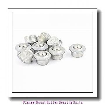 4-7/16 in x 10.6100 in x 6.7500 in  Dodge F4BDI407RE Flange-Mount Roller Bearing Units