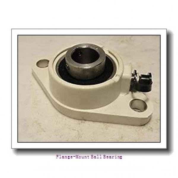 2.9375 in x 6.0000 in x 7.7500 in  Dodge F4BDL215 Flange-Mount Ball Bearing #1 image