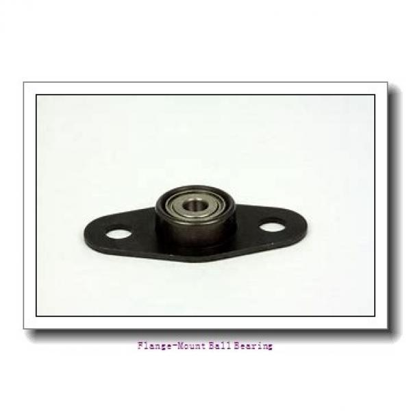 2.9375 in x 6.0000 in x 7.7500 in  Dodge F4BDL215 Flange-Mount Ball Bearing #2 image