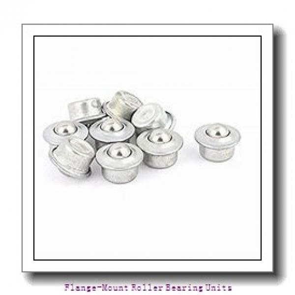 2-3/4 in x 6.0000 in x 7.7500 in  Dodge F4BE212R Flange-Mount Roller Bearing Units #2 image